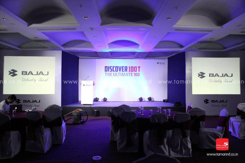 Bajaj Discover 100T Launch