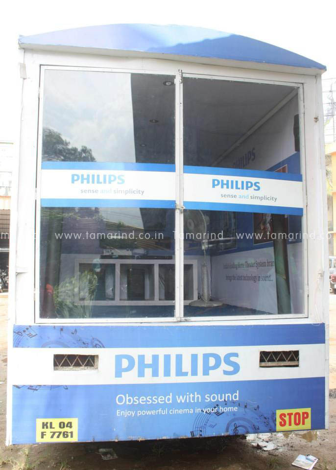 Brand Activations - Gallery - Philips - On Road Theater Experience